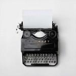 Black Favorit Manual Typewriter Courtesy of Florian Klauer from Unsplash