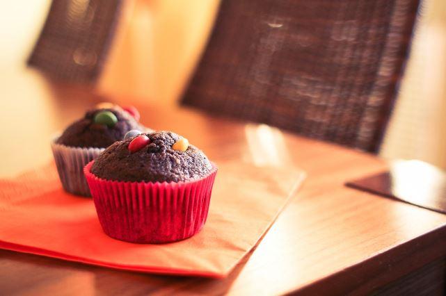 Cupcakes to celebrate Melanie's birthday